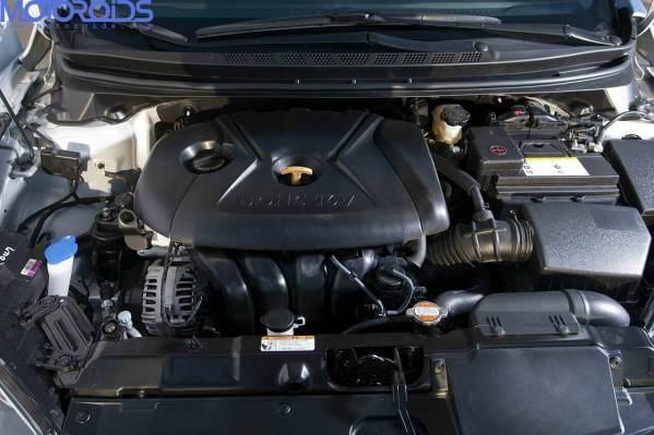 New 2011 hyunda Elantra India engine