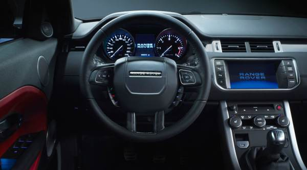 Land Rover Evoque 5 door interior