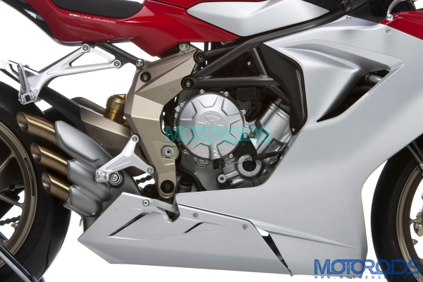 The 2011 MV Agusta F3 has been unveiled prior to its public unveiling at the 2010 EICMA. Photos and details on Motoroids.com