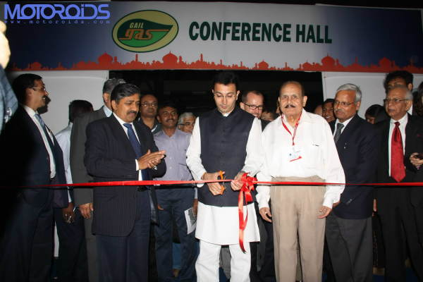 NGV-India-2010_Exhibition&Conference_Ribbon-Cutting_Jitin Prasada