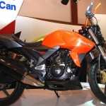 TVS Shows its Velocity 160 concept at Jakarta Motorcycle Show
