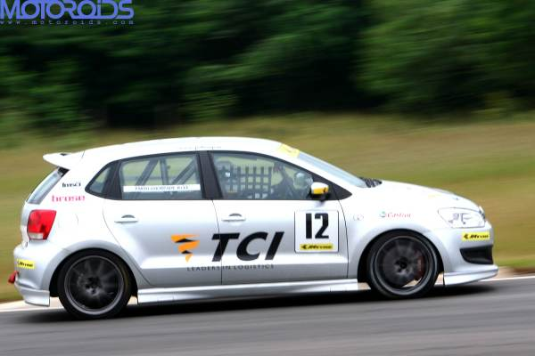 Parth Ghorpade VW Polo Cup