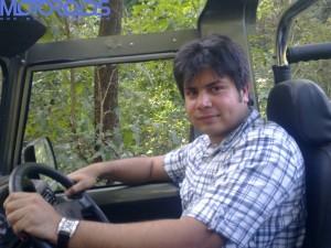 Mahindra Thar Amit Chhangani