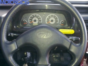 Mahindra Thar steering