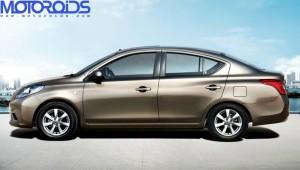 Nssan V platform entry level Sunny sedan for India