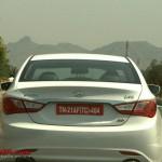 Hyundai Sonata YF / i45 caught testing in India
