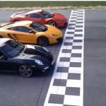 Video: Drag race between F458 Italia, MP4 12C and 997 Turbo