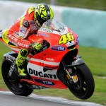 Rossi and Hayden finish three days of testing at Sepang
