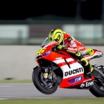 Valentino Rossi not quick enough with the Desmo in testing