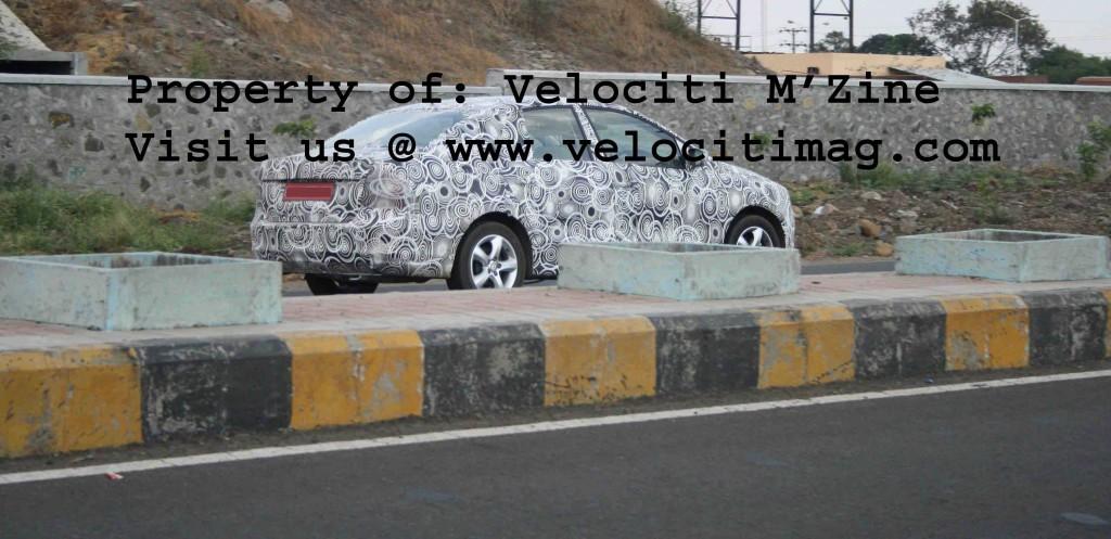 Spy Shots of Vento Killer - Skoda Rapid