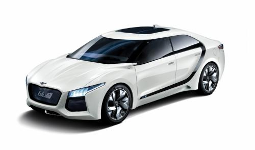 Hyundai has showcased their new concept Blue2 which is a cell powered car churning out 121bhp of power