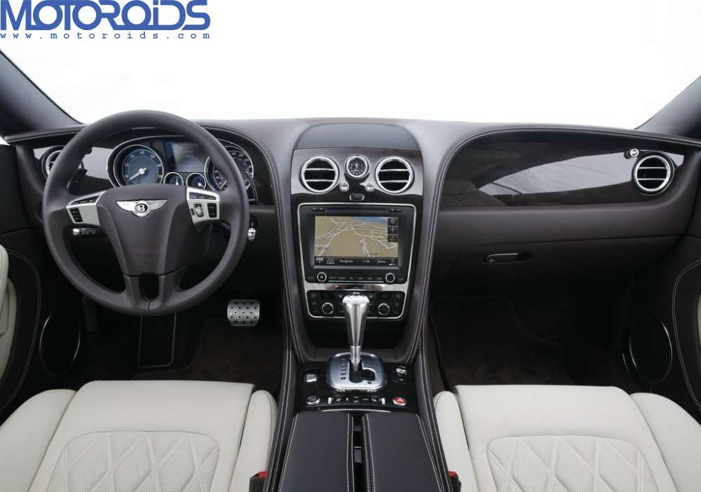 2012 Bentley Continental GT interior