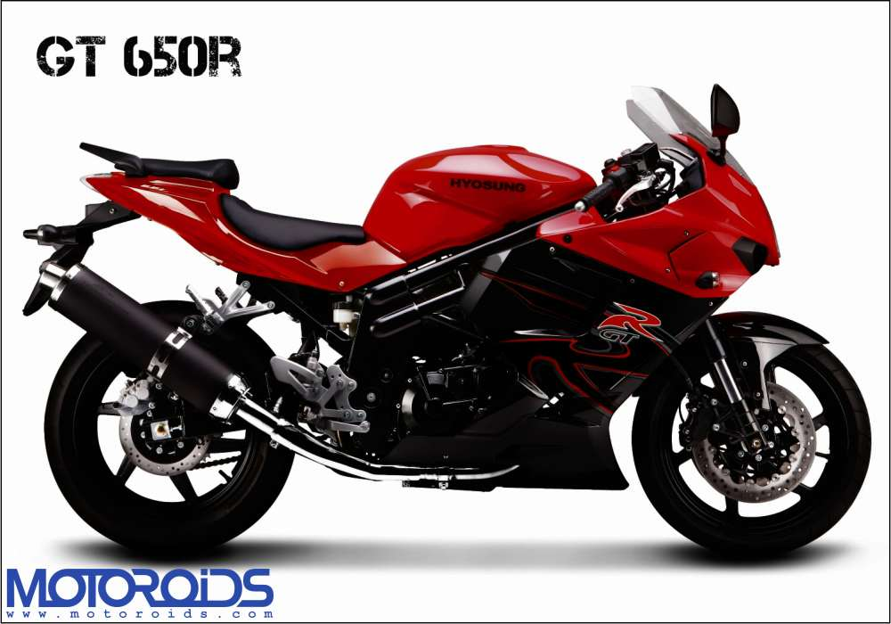 Bike-Post-Card-GT650R-Red