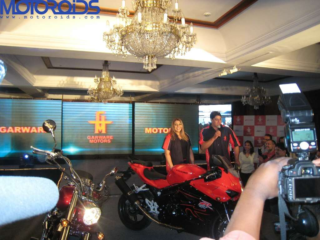 Hyosung ST7 and GT650R India launch (2)