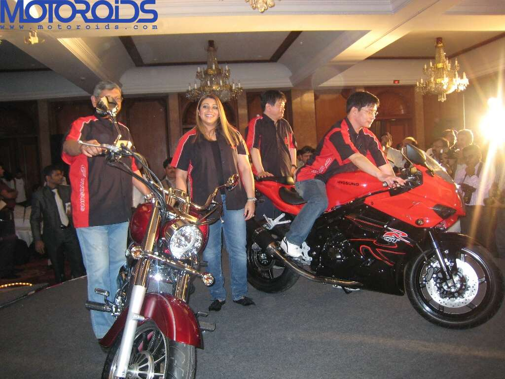 Hyosung ST7 and GT650R India launch (1)