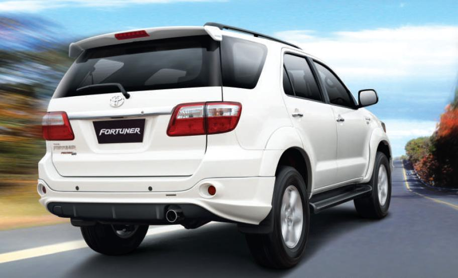 Toyota India Has Introduced A Sports Package for the Fortuner Costing Rs. 42,650