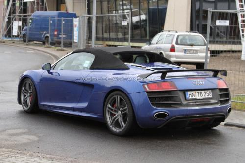 Audi R8 2012 Sypder to be seen at the Frankfurt Auto Show this fall