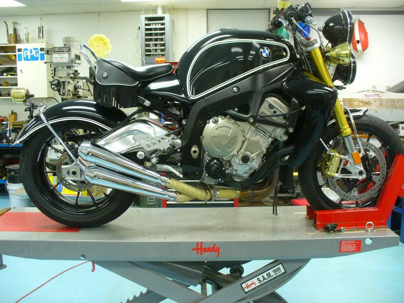 BMW S1000RR cruiser custom