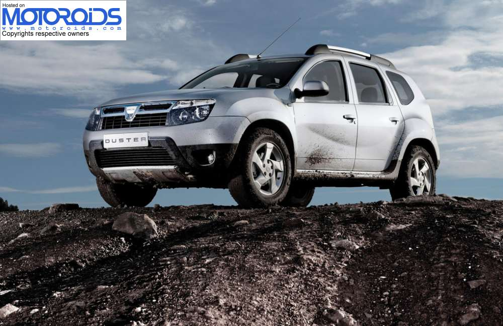 Dacia Duster India