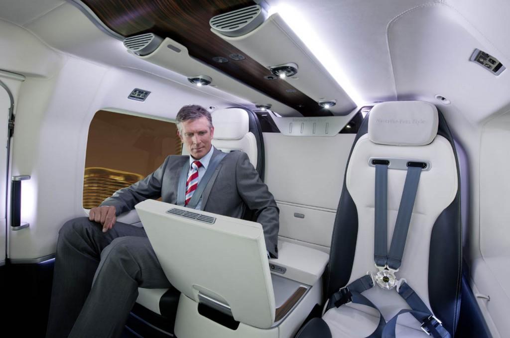 Mercedes Benz Designs Luxurious Interiors For EuroCopter
