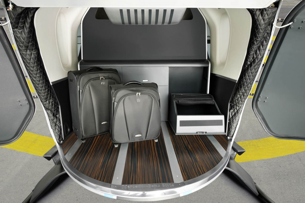 Mercedes Benz Designs Luxurious Interiors For EuroCopter