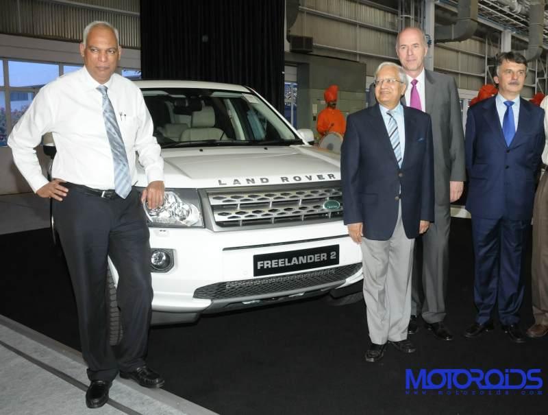 Jaguar Land Rover India assembly plant