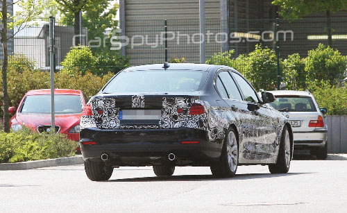 new 3 series spied