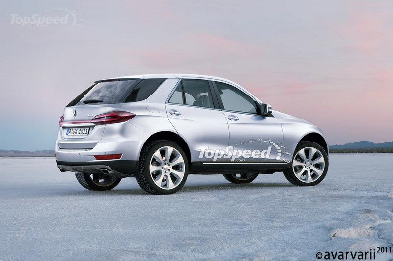 Mercedes Benz Mini SUV BLK-Class Rendering Images
