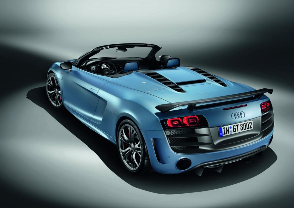 Audi Launched R8 GT Spyder