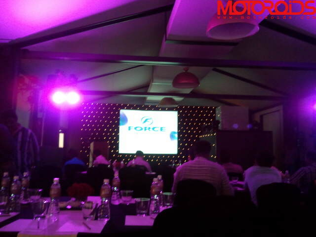 Force Motors press conference