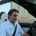 Video: Roger Federer driving the Mercedes-Benz SLS AMG Roadster