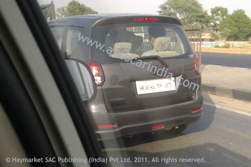 More Spy Images Of Maruti Suzuki R III
