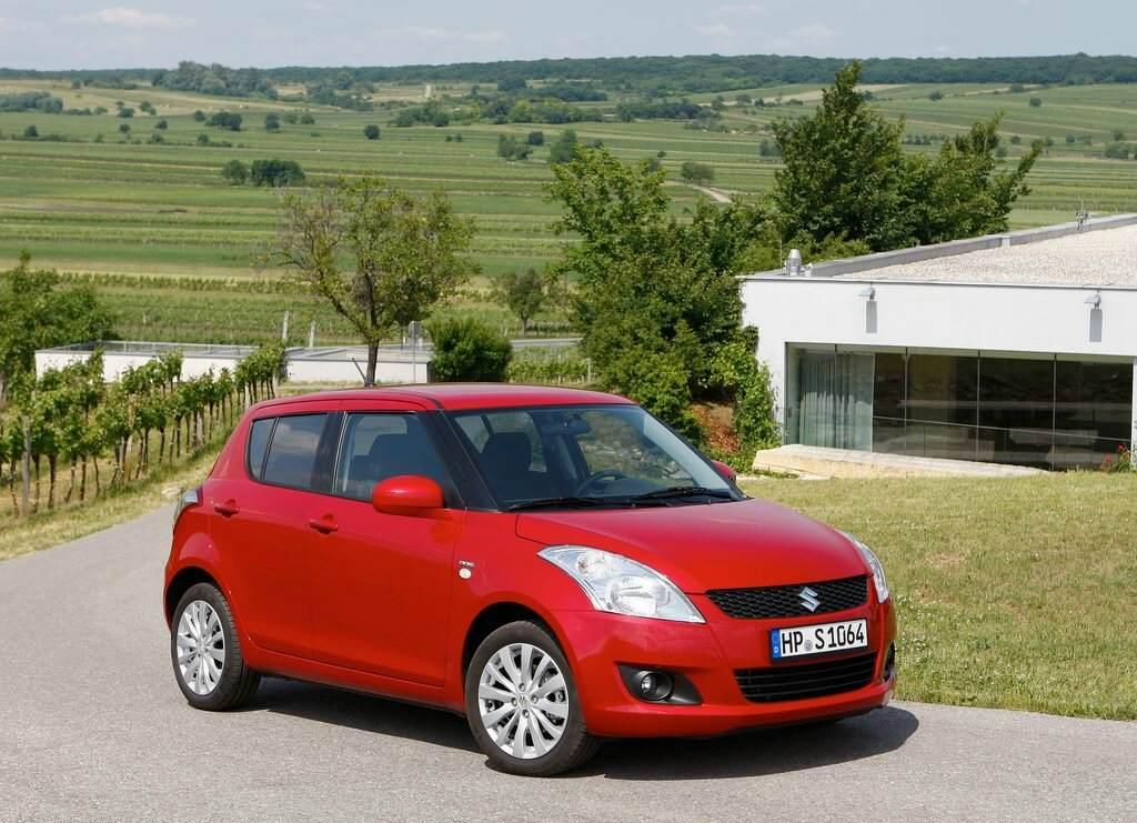 2011 Swift static