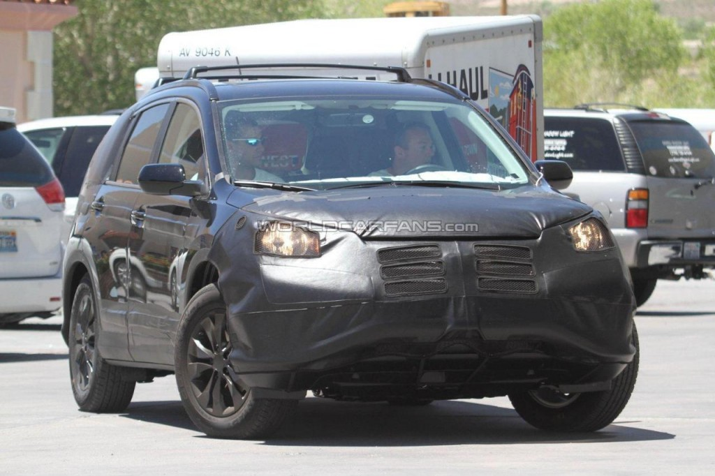 2012 Honda CRV Spied From All Angles
