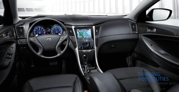2012 Sonata interior