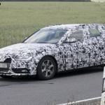 2012 Audi A4 Facelift Spied