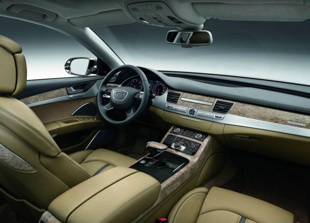 Audi A8L W12 sedan
