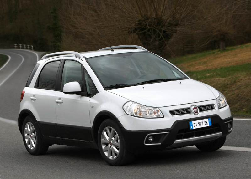 The Fiat Sedici Crossover