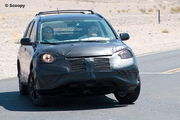 New Honda CR-V crossover