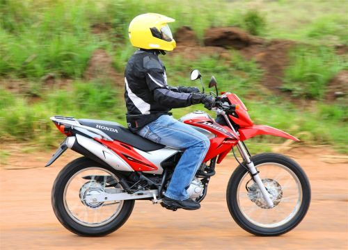 The Hero MotoCorp dirt bike - Honda NXR 150 Bros