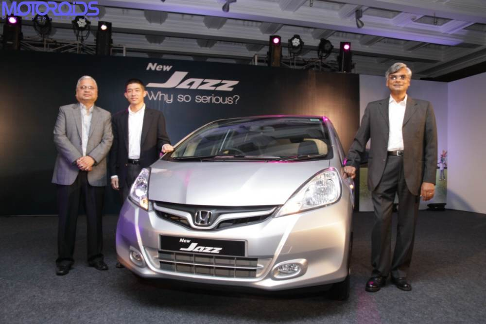 New Honda Jazz facelift