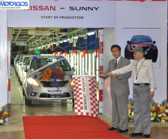 Nissan Sunny production