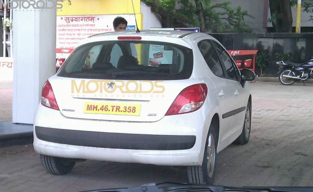 Peugeot 207 India
