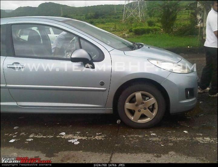 Peugeot 207 two door