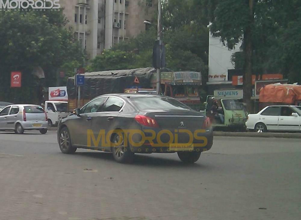 Peugeot 508 India