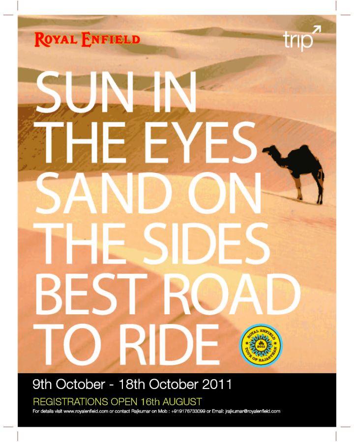 Royal Enfield Tour of Rajasthan 2011 (1)