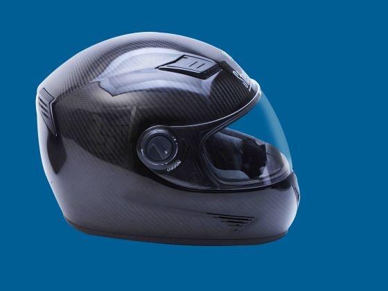 Steelbird carbon fiber helmet