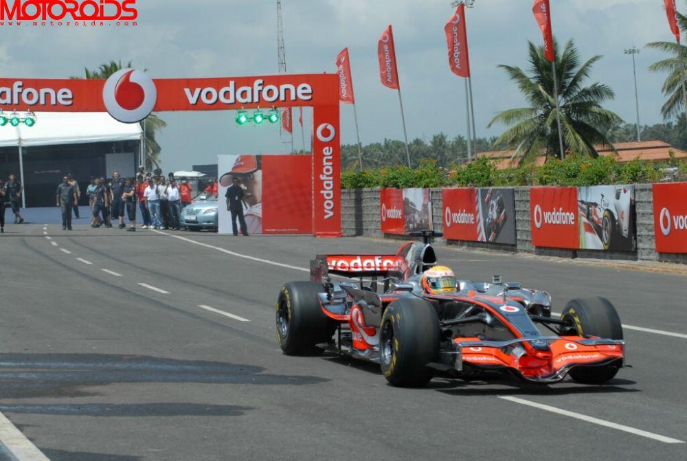 Lewis hamilton India