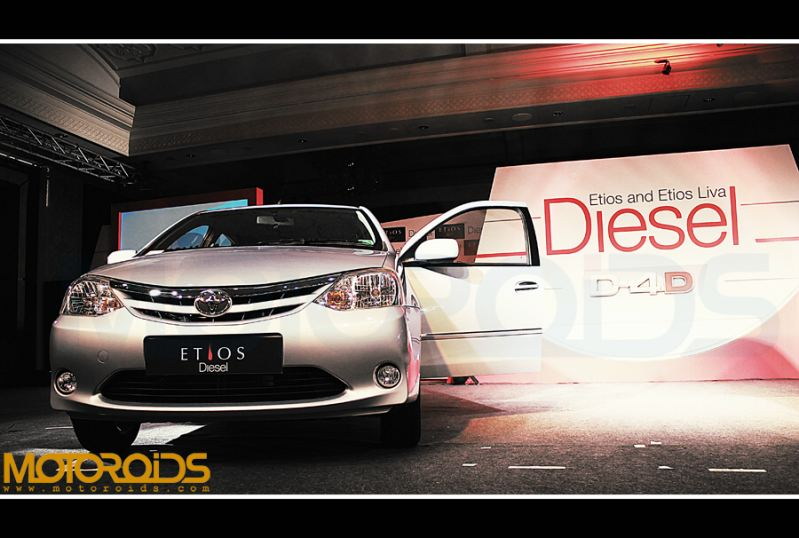 Etios sedan diesel launch