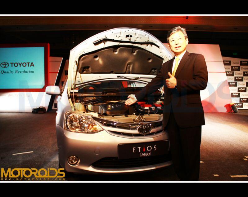 Etios diesel engine